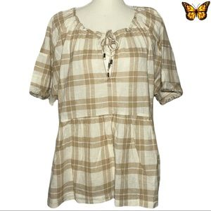 NWT Pilcro and the Letterpress Bette Babydoll
